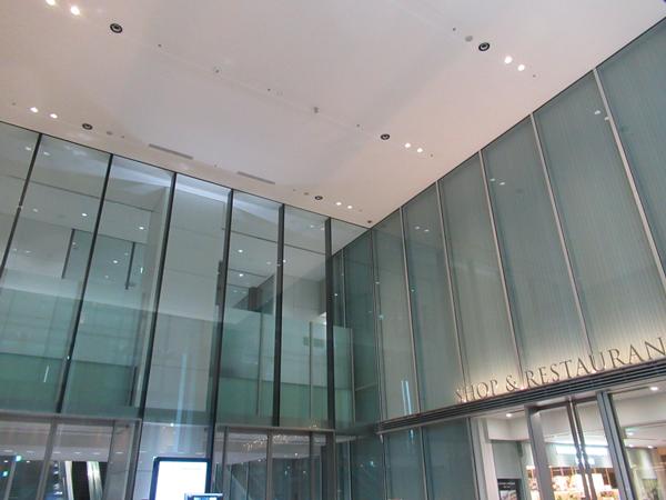 アトリウムの天井