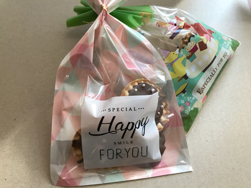 手作りバレンタインのチョコ