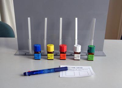 嗅覚検査-5種類の基準臭