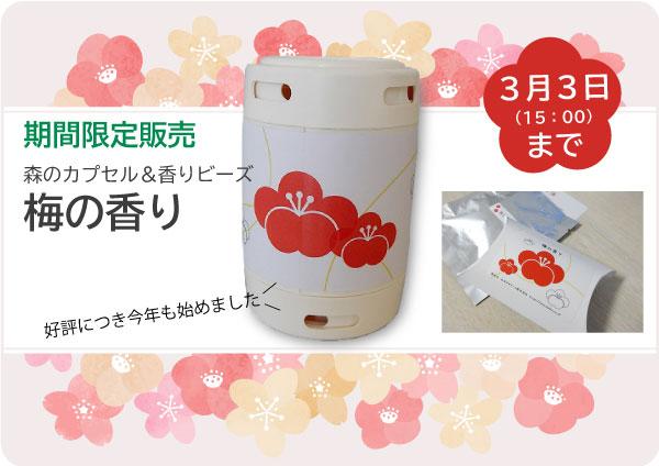 梅の香り(期間限定商品)2021