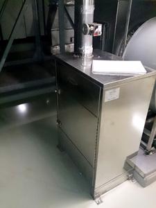 ホテルの厨房排気用消臭器