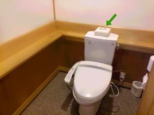 神社トイレと消臭器