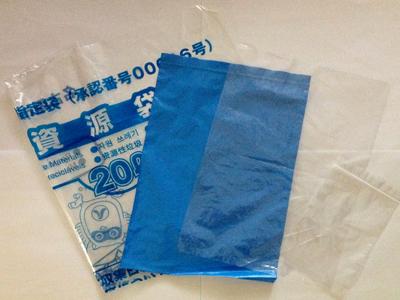 ポリエチレン製の袋