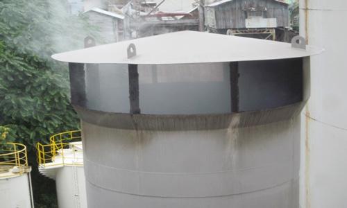 工場の排気口1
