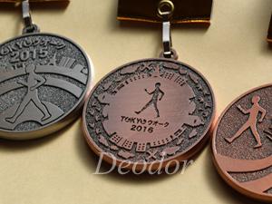 歴代のメダル