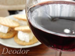ワインにチーズ