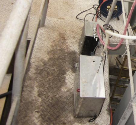 排水前処理槽の消臭テスト