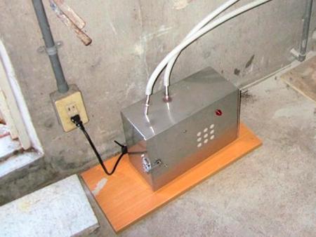 消臭器の設置