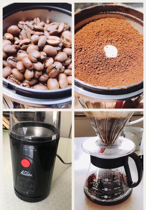 コーヒーの抽出まで