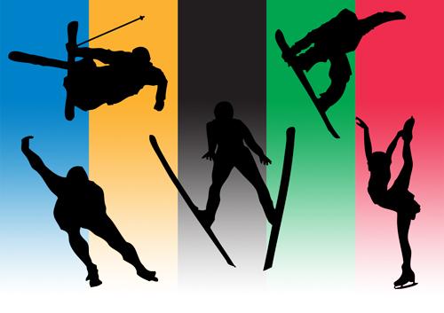 冬のオリンピックイメージ