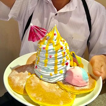 そっくりパンケーキ