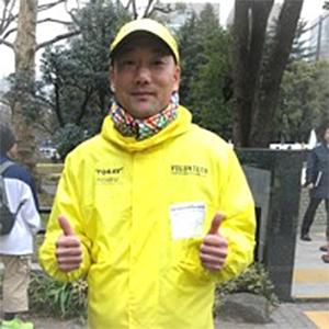 東京マラソンのボランティア