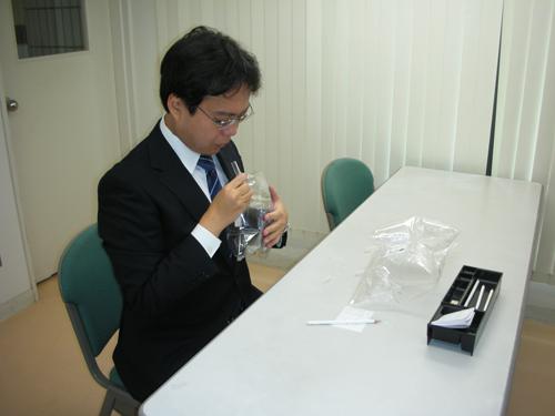 臭気測定のイメージ