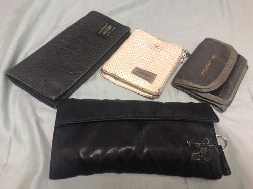 使ってきた財布