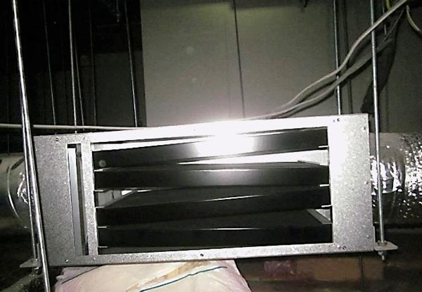 活性炭の詰まったフィルター