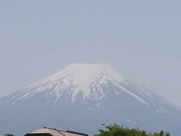 晴れた日の富士
