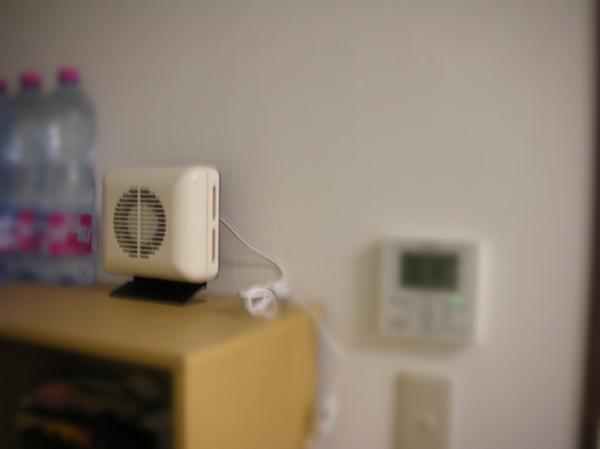 室内用消臭器 ミニ・フォレスト設置例