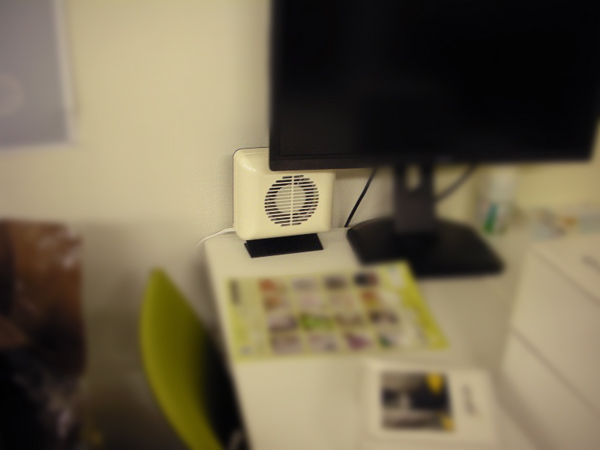 室内用消臭器 ミニ・フォレスト設置例2