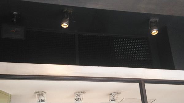 厨房排気の排気口2