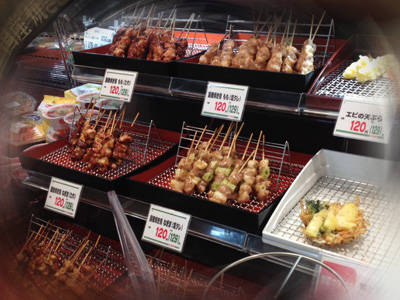 お惣菜(焼き鳥)イメージ