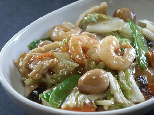 中華料理(八宝菜)