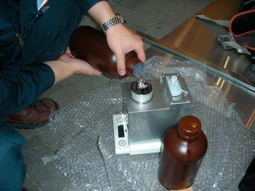 消臭器のメンテナンス